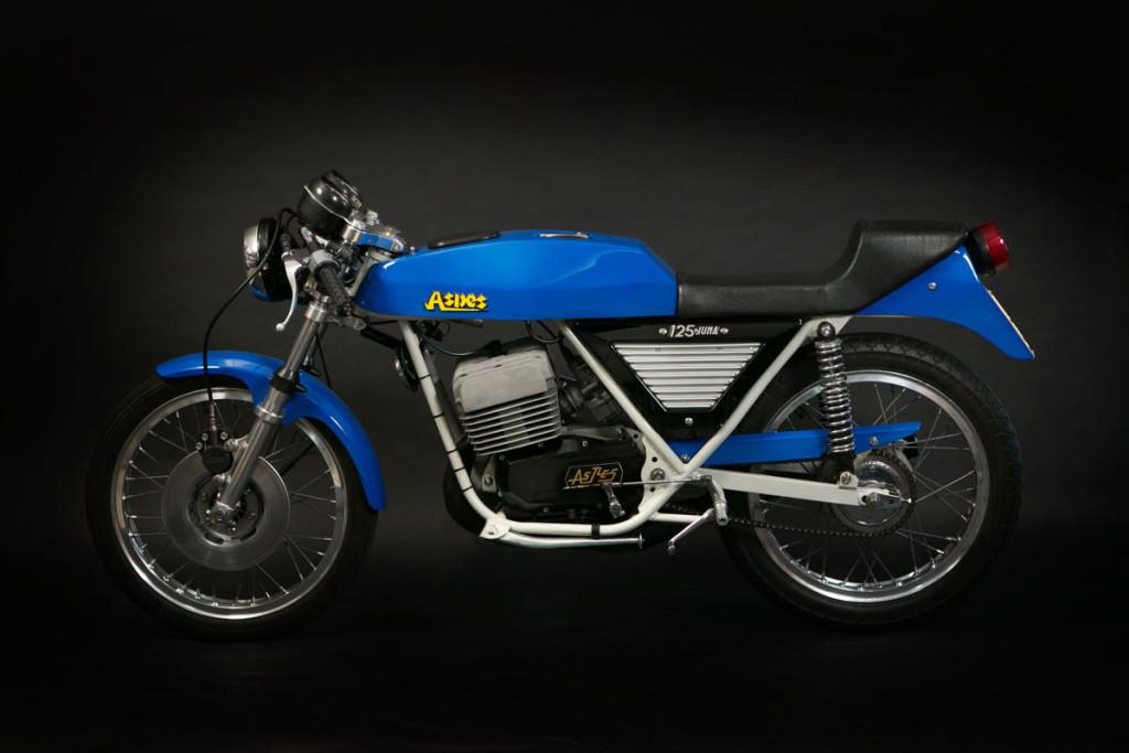Aspes Yuma prima serie 1976, anche questa moto è stata interamente restaurata nella mia officina.