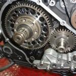 blocco motore 750 f1 con carburatori da 40